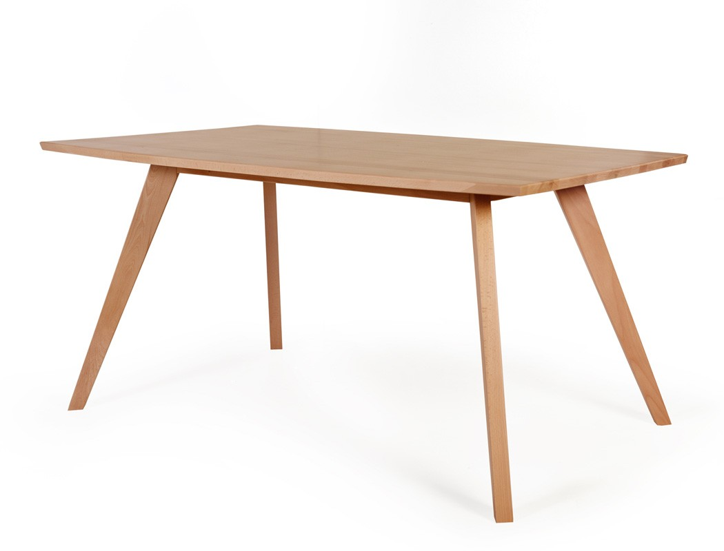Esstisch tromsa tisch mit fester platte bootsform variante for Esstisch tisch