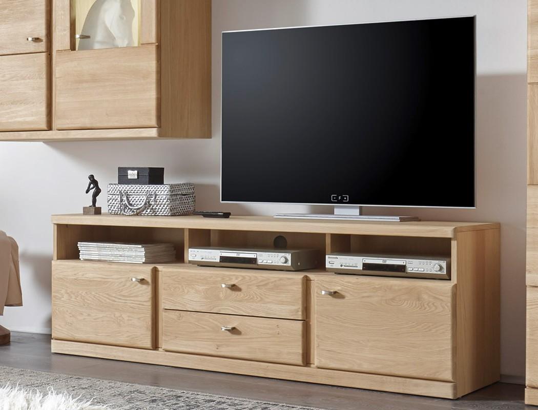 Wohnwand lanciano 4 teilig wildeiche teilmassiv medienwand tv wand wohnbereiche wohnzimmer wohnw nde - Medienwand tv ...