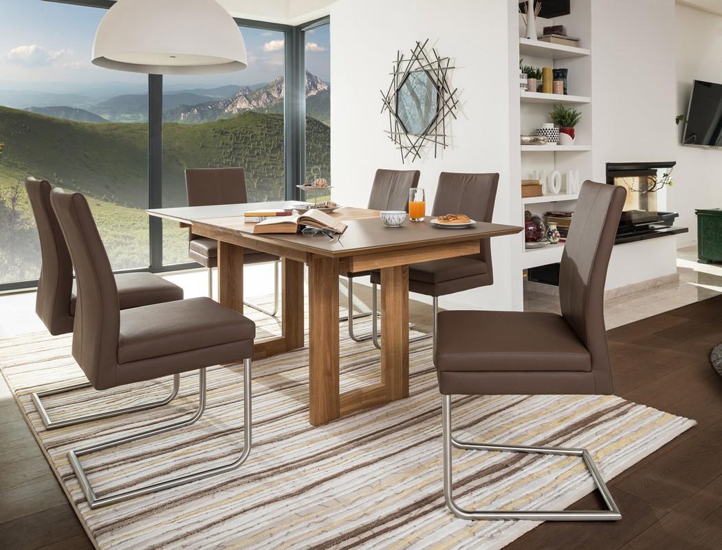 Schwingstuhl gonda polsterstuhl varianten esszimmer for Polsterstuhl esszimmer
