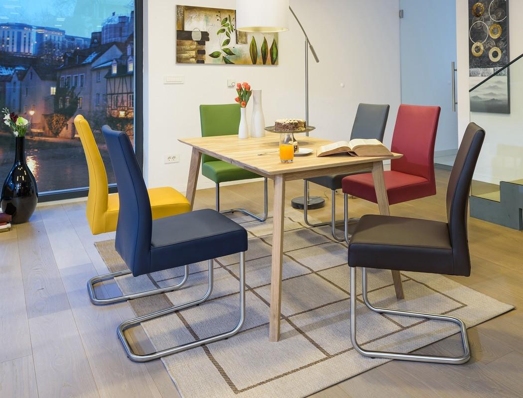 4x schwingstuhl kaja polsterstuhl varianten esszimmer. Black Bedroom Furniture Sets. Home Design Ideas
