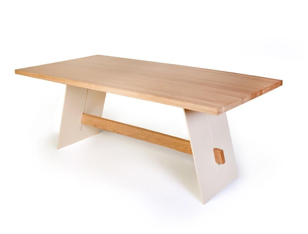 Tischgruppe Tisch Alban Eiche bianco + 6 Stühle Nubia Zeus ...