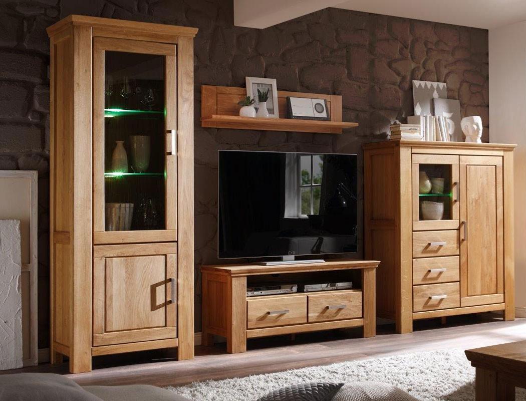 lowboard viterbo 125x55x45 cm wildeiche teilmassiv tv schrank tv board wohnbereiche wohnzimmer. Black Bedroom Furniture Sets. Home Design Ideas