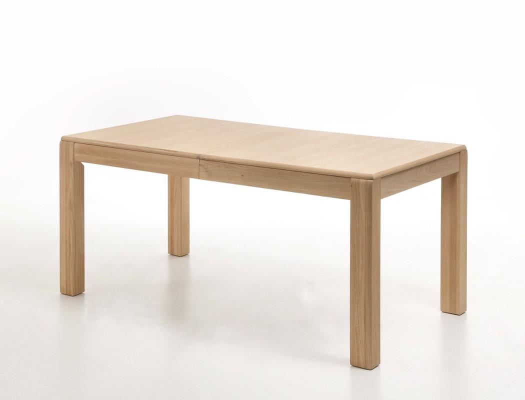 esstisch senta 15 eiche bianco teilmassiv 160 260 x90x77 cm tisch wohnbereiche esszimmer esstische. Black Bedroom Furniture Sets. Home Design Ideas