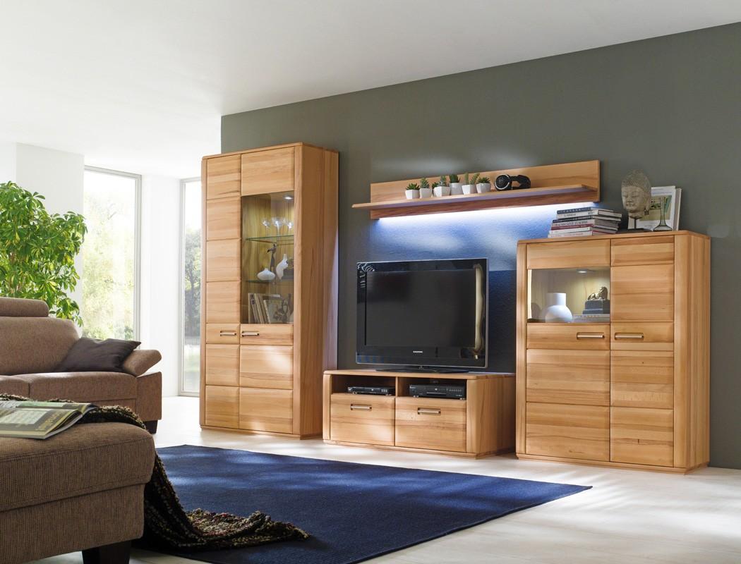 highboard kernbuche teilmassiv 107x132x38 cm schrank vitrine wohnzimmer senta 3 ebay. Black Bedroom Furniture Sets. Home Design Ideas