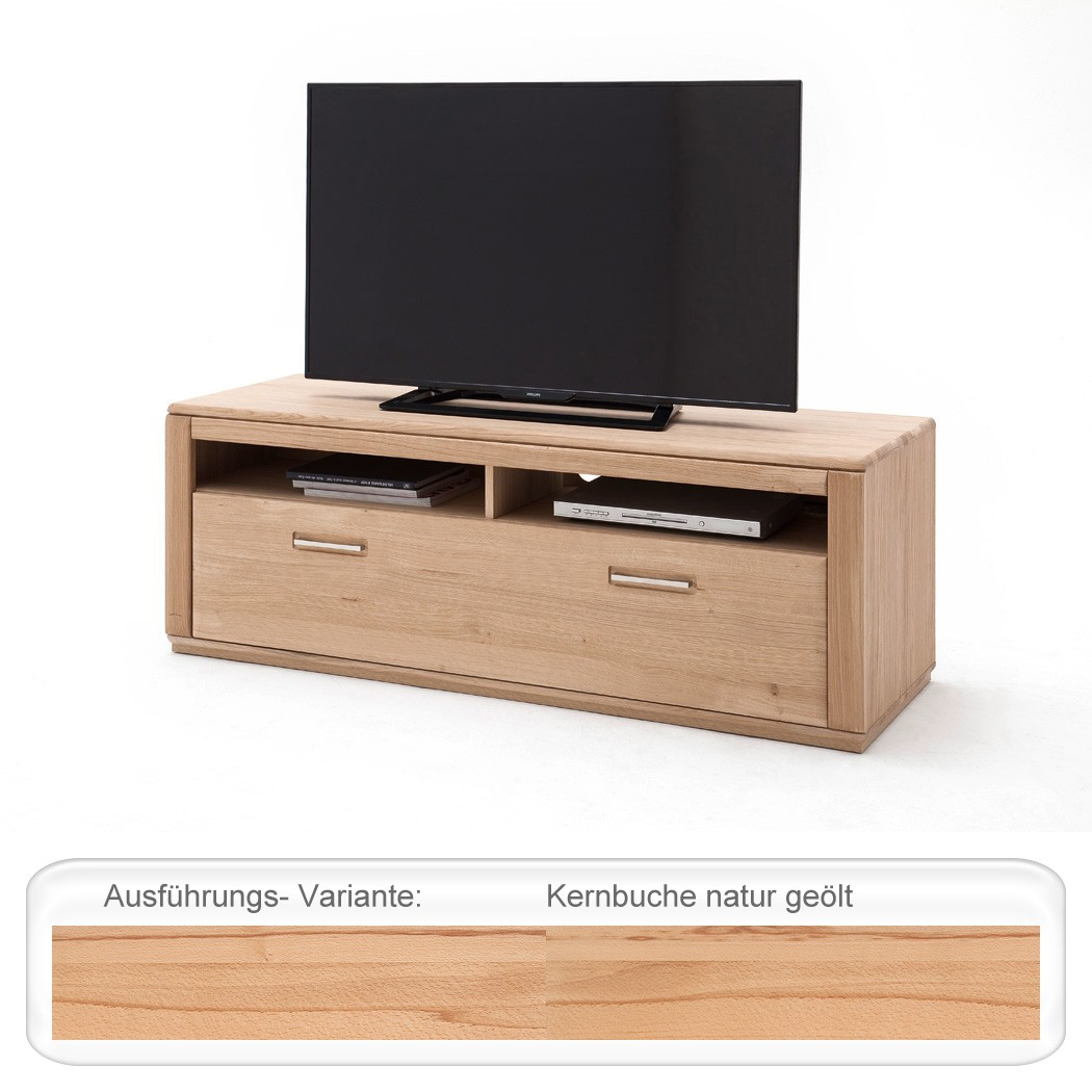 lowboard kernbuche teilmassiv 154x54x51cm tv m bel tv schrank wohnzimmer senta 9 4251177624353. Black Bedroom Furniture Sets. Home Design Ideas