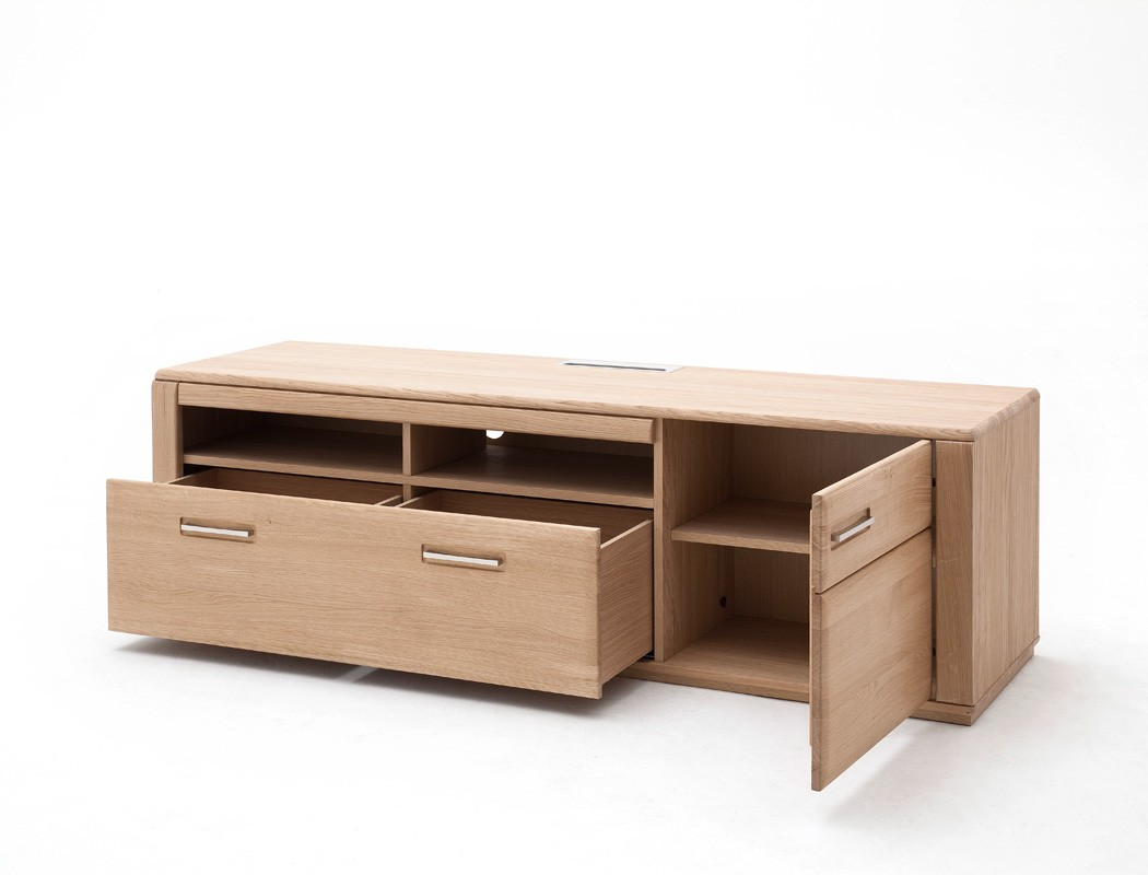 lowboard kernbuche teilmassiv 179x54x51 tv m bel tv. Black Bedroom Furniture Sets. Home Design Ideas