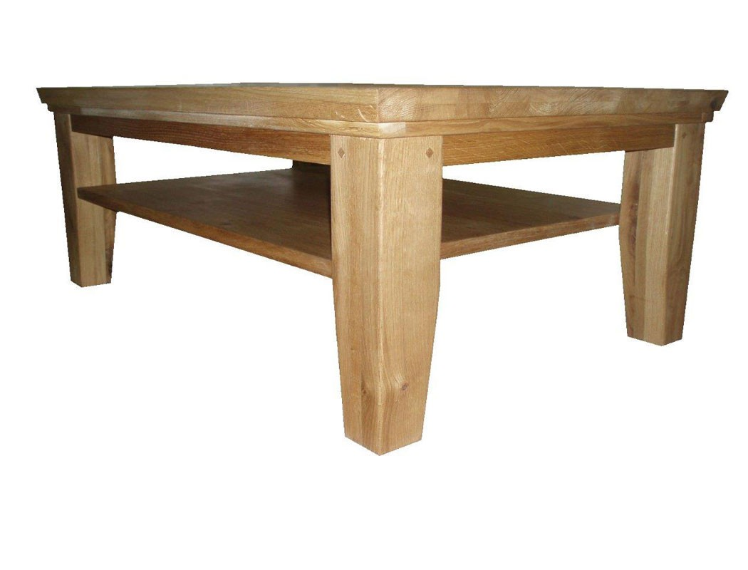 Couchtisch Viterbo 120x80x45 cm Wildeiche teilmassiv Sofatisch Tisch Wohnbereiche Wohnzimmer ...