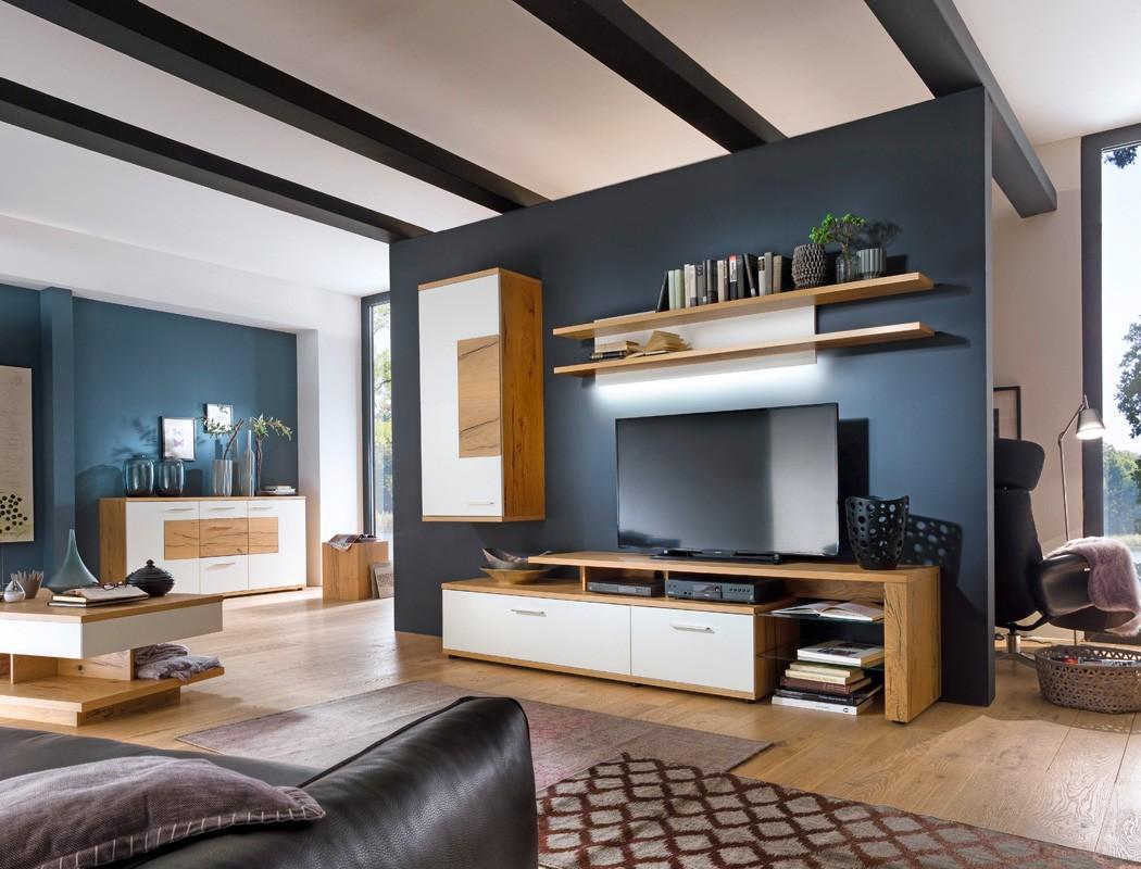 lowboard nina 8 wei crack eiche 238x56x50 cm tv m bel tv. Black Bedroom Furniture Sets. Home Design Ideas
