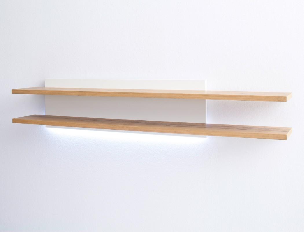 wandboard wei crack eiche 180x35x27 cm wandregal regal. Black Bedroom Furniture Sets. Home Design Ideas