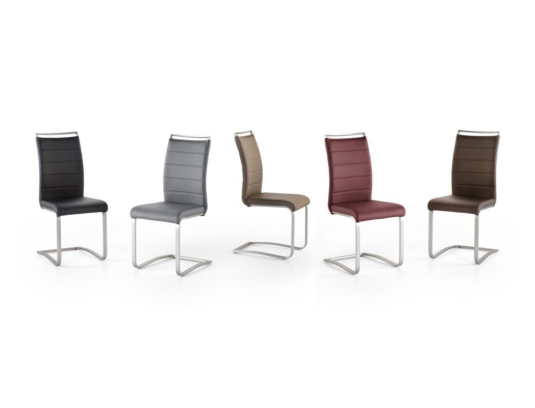 4x schwingstuhl perry varianten freischwinger polsterstuhl esszimmer wohnbereiche esszimmer. Black Bedroom Furniture Sets. Home Design Ideas