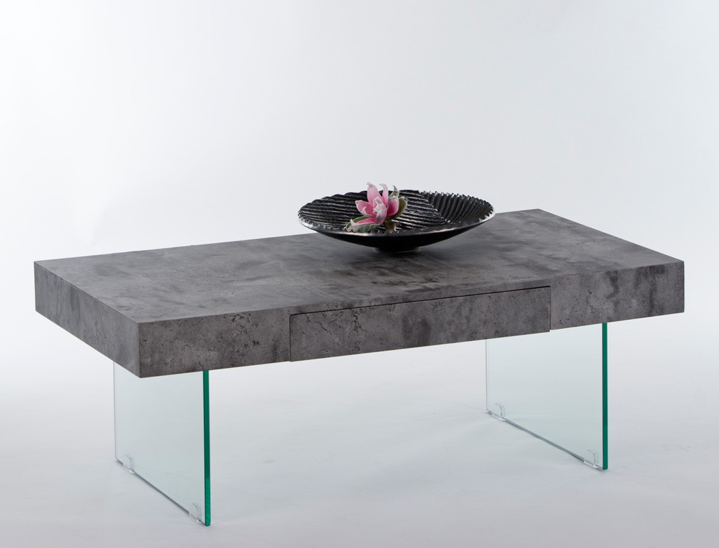 Couchtisch delia 110x60x42 cm beton dekor sofatisch for Couchtisch schiefer