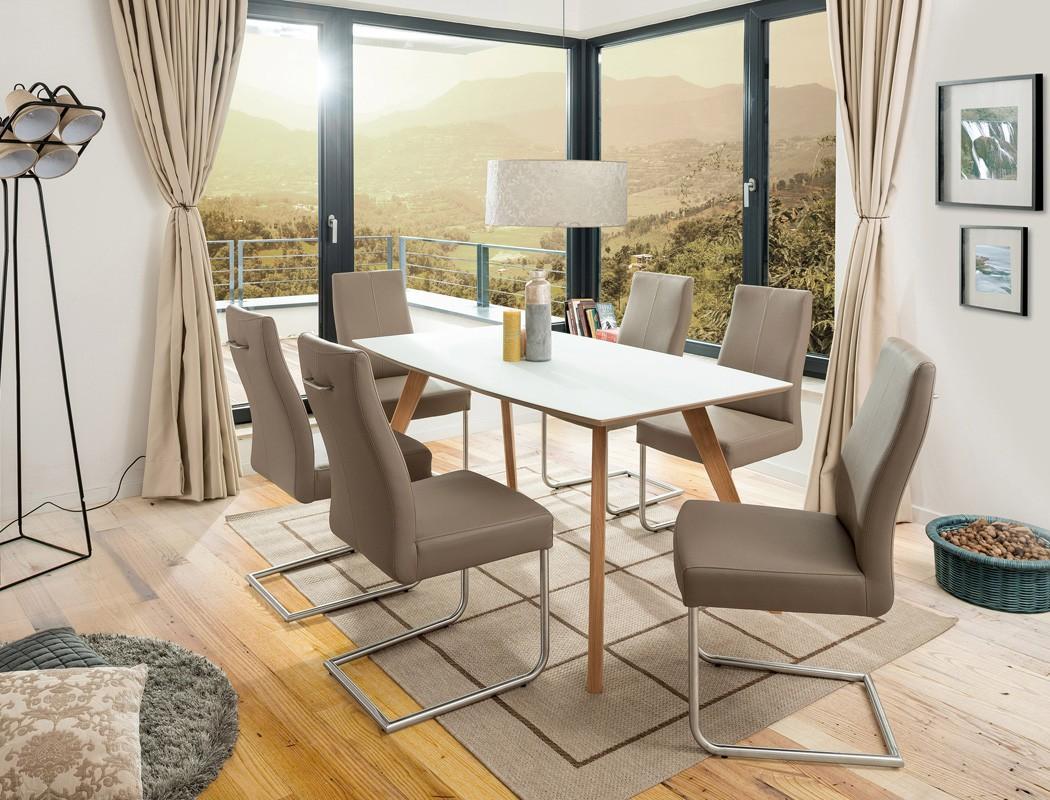 esstisch wei eiche out of stock with esstisch wei eiche simple esstisch karmi wei eiche sonoma. Black Bedroom Furniture Sets. Home Design Ideas