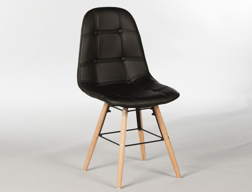 4x polsterstuhl tobias schwarz gestell buche esszimmerstuhl st hle wohnbereiche esszimmer. Black Bedroom Furniture Sets. Home Design Ideas