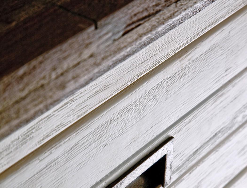 Garderobenschrank gordon 4 weiss struktur akazie 60x200x40 for Garderobe 80 x 200