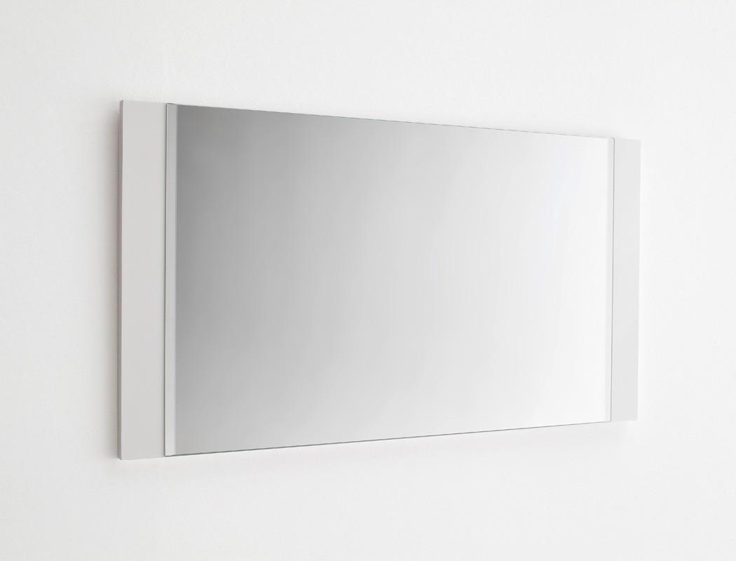 wandspiegel odin 90x68x2 cm hochglanz wei spiegel. Black Bedroom Furniture Sets. Home Design Ideas