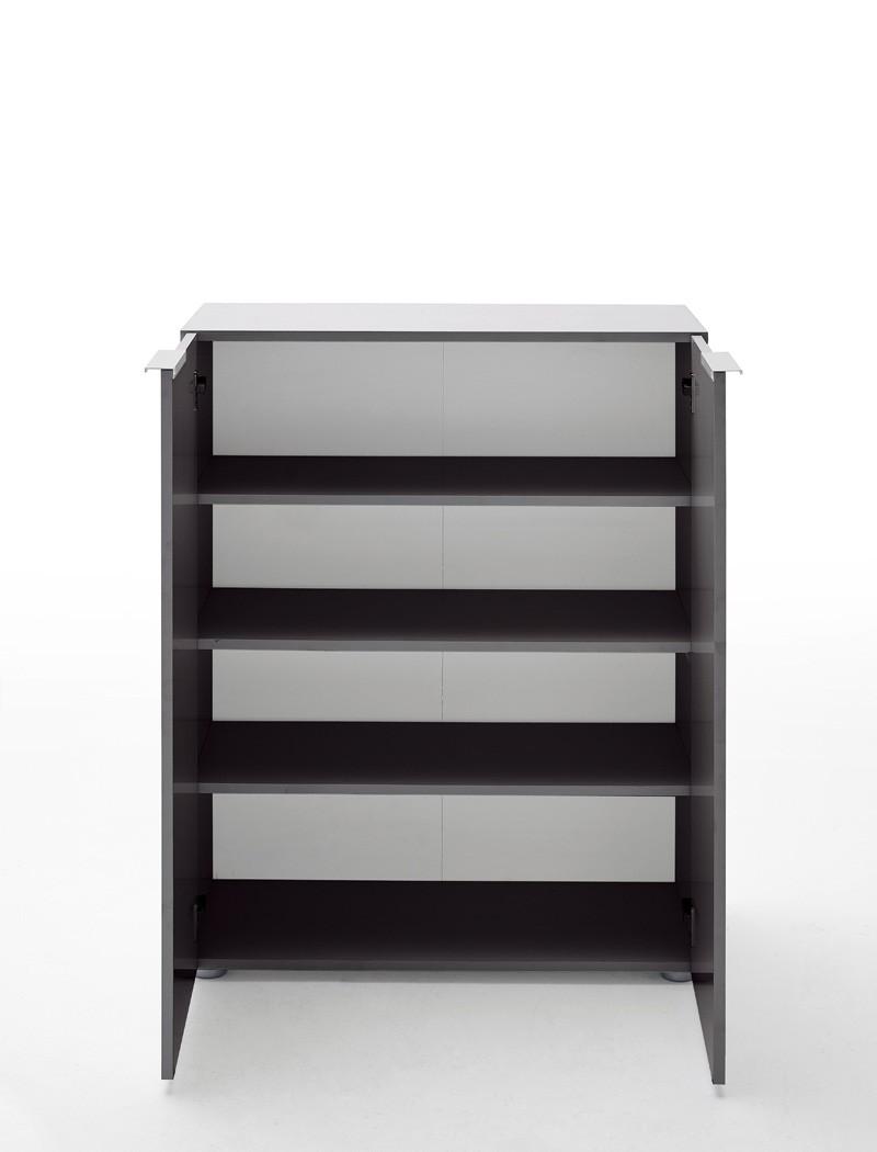 Kommode anthrazit 80x101x39 cm sideboard garderobe for Garderobe kommode