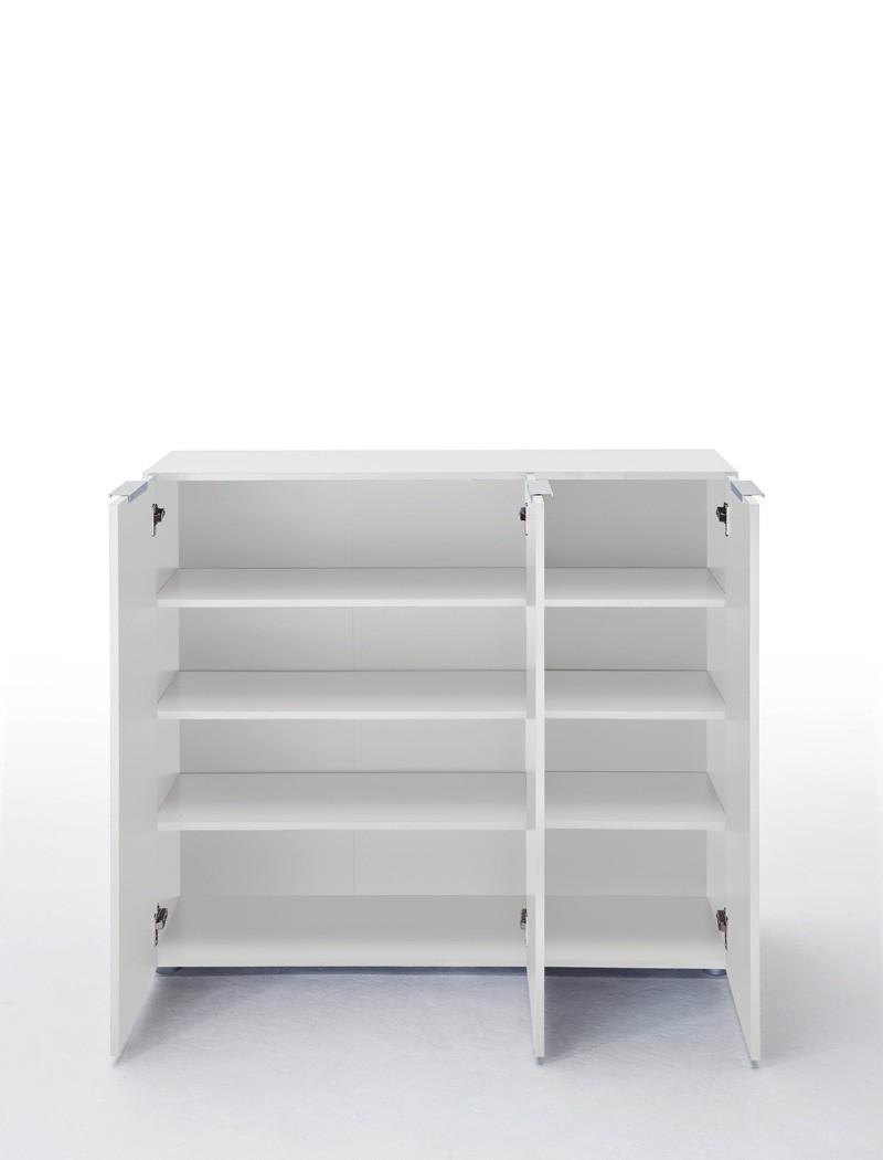 garderobe wei hochglanz wenge 3 teilig garderobenset. Black Bedroom Furniture Sets. Home Design Ideas