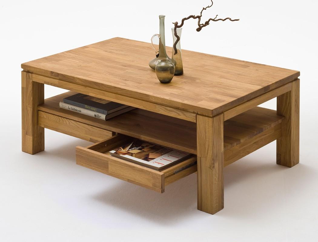 couchtisch goro 115x70x45 cm eiche massiv sofatisch. Black Bedroom Furniture Sets. Home Design Ideas