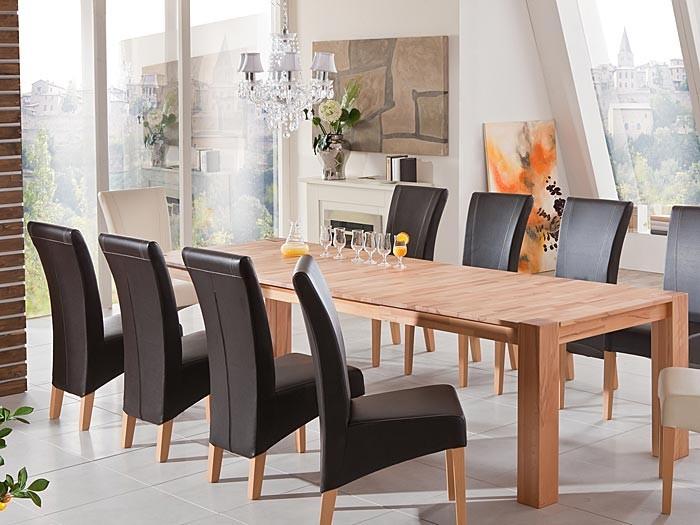 esstisch marco 2xl ausziehbar 200 300 x100x75cm kernbuche holztisch wohnbereiche esszimmer esstische. Black Bedroom Furniture Sets. Home Design Ideas
