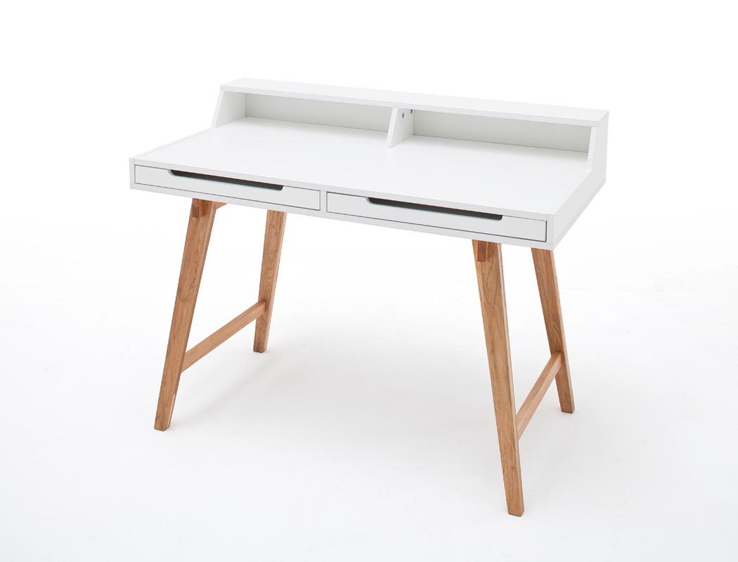 schreibtisch 110x58x85 cm wei b rotisch computertisch schminktisch tisch tiana ebay. Black Bedroom Furniture Sets. Home Design Ideas