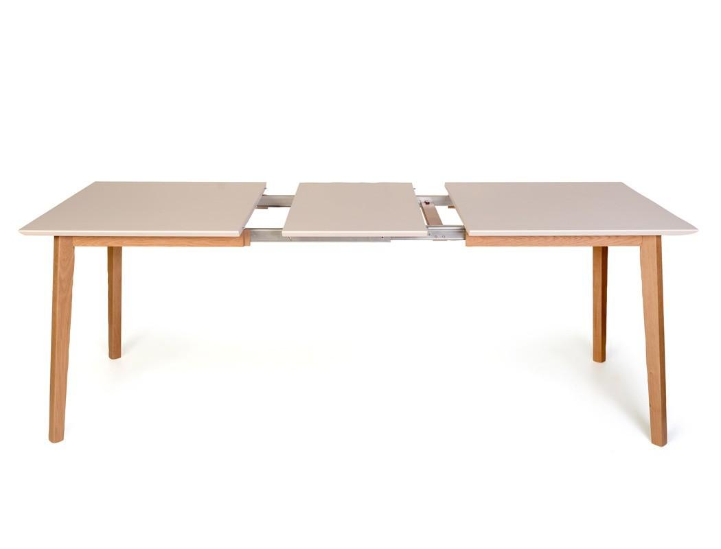 esstisch viano color xl 140 185 x80 cm ausziehbar weiss. Black Bedroom Furniture Sets. Home Design Ideas