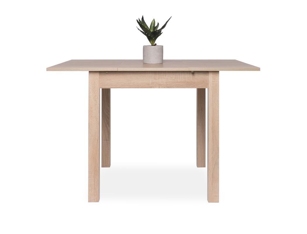 esstisch eiche sonoma 80 120 x80 cm speisetisch auszugstisch tisch cottbus ebay. Black Bedroom Furniture Sets. Home Design Ideas