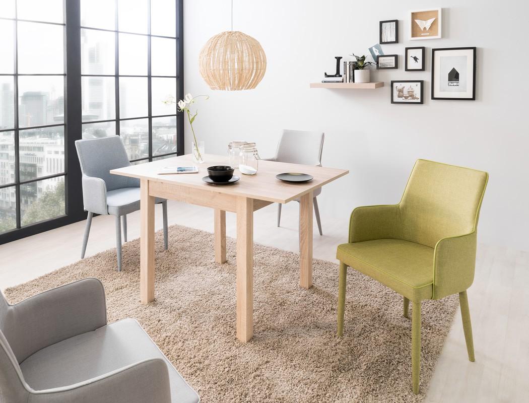 esstisch cottbus eiche sonoma 80 120 x80 cm speisetisch tisch wohnbereiche esszimmer esstische. Black Bedroom Furniture Sets. Home Design Ideas