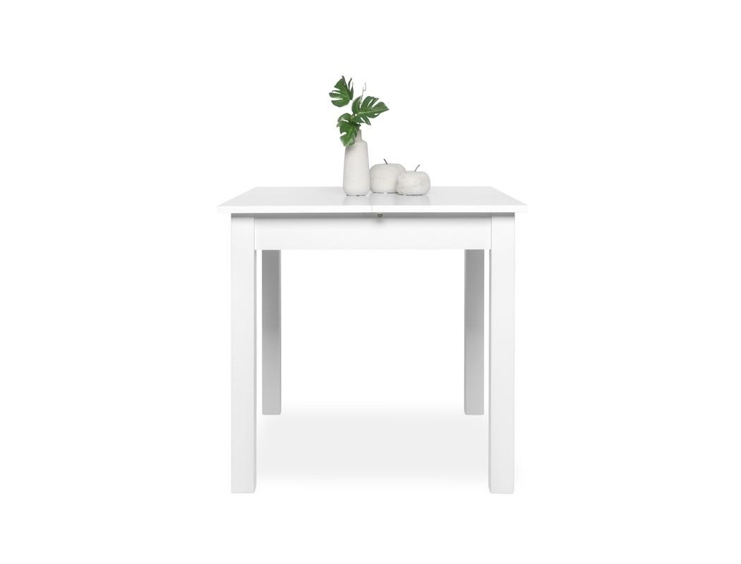 esstisch wei 80 120 x80 cm speisetisch auszugstisch k chentisch cottbus ebay. Black Bedroom Furniture Sets. Home Design Ideas