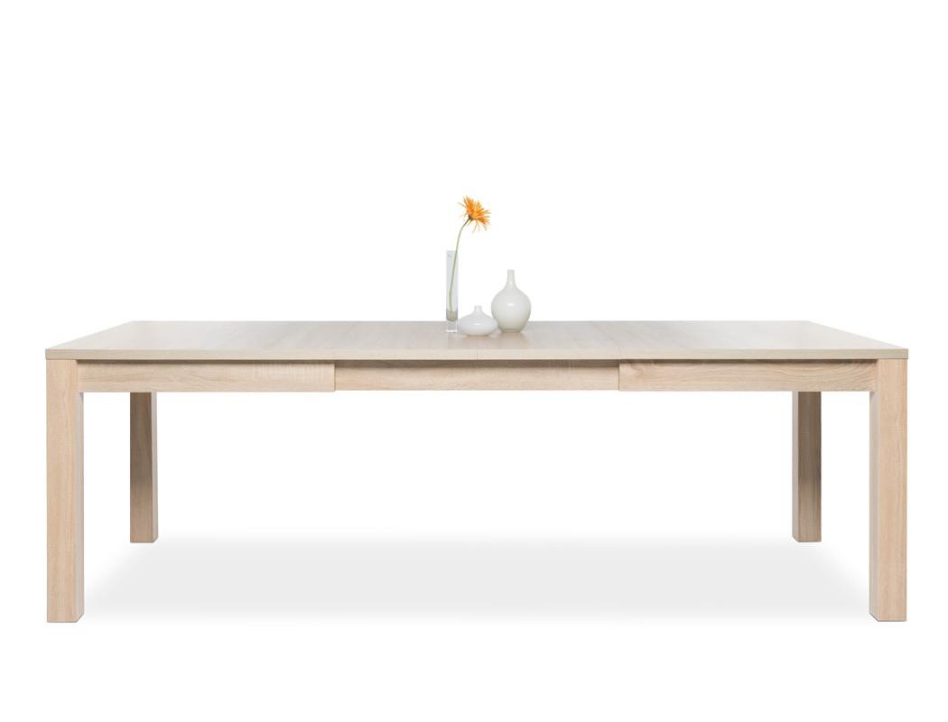 esstisch siegmund eiche sonoma 160 200 240 x90 cm. Black Bedroom Furniture Sets. Home Design Ideas