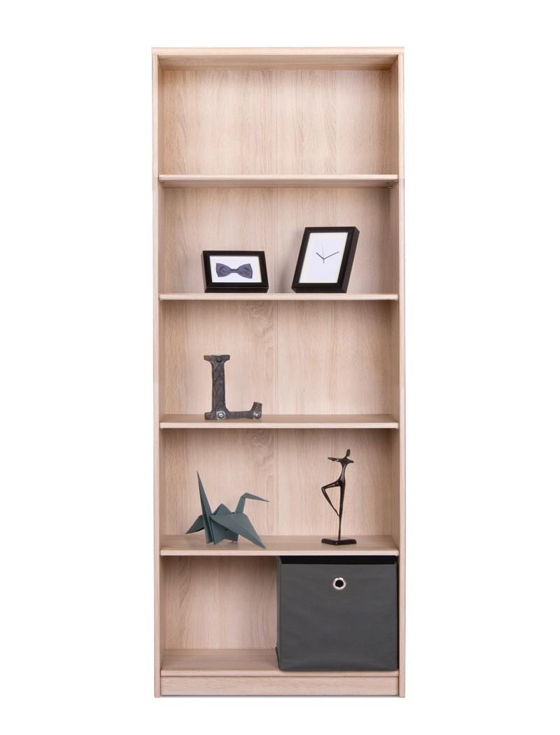 b cherregal koblenz 23 eiche sonoma 68x188x35 cm standregal regal wohnbereiche wohnzimmer regale. Black Bedroom Furniture Sets. Home Design Ideas