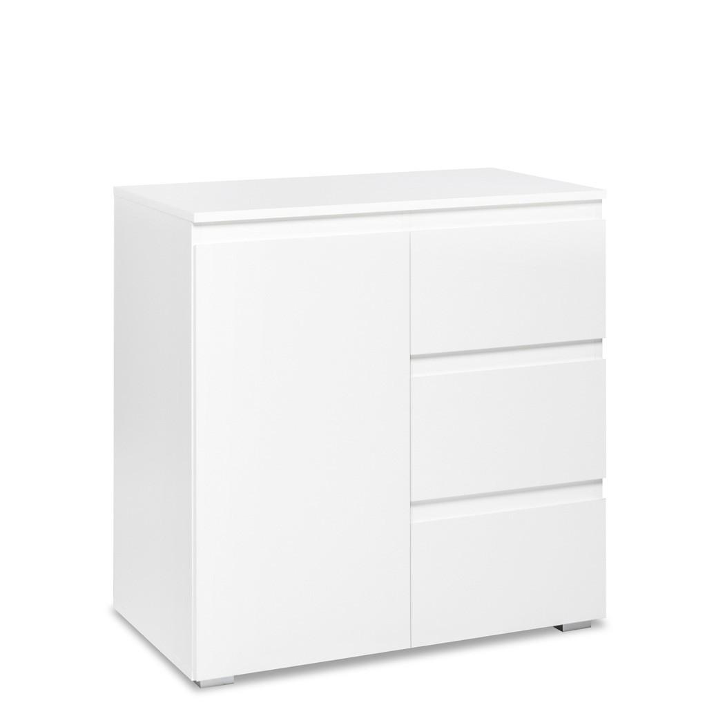 Kommode wei 80x80x40 cm sideboard schrank for Sideboard 260 cm