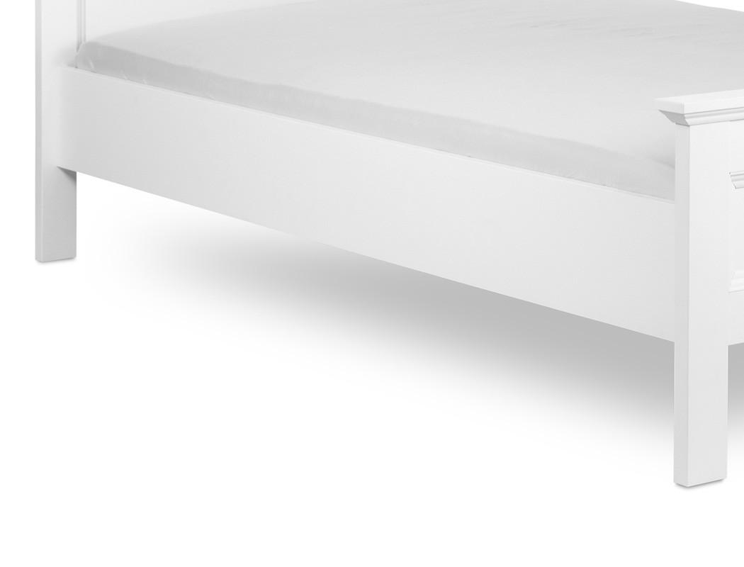 jugendbett landstr m 62 wei 140x200 singlebett lattenrost matratze wohnbereiche schlafzimmer. Black Bedroom Furniture Sets. Home Design Ideas