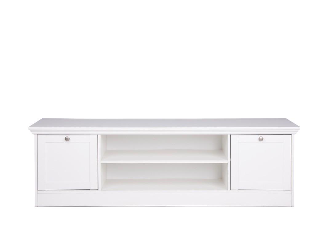 wohnzimmer landstr m 151 wei 4 teilig lowboard vitrine. Black Bedroom Furniture Sets. Home Design Ideas