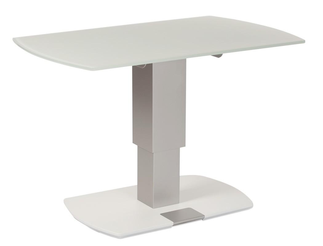 couchtisch aalst 100x62x49 cm h henverstellbar glasplatte. Black Bedroom Furniture Sets. Home Design Ideas