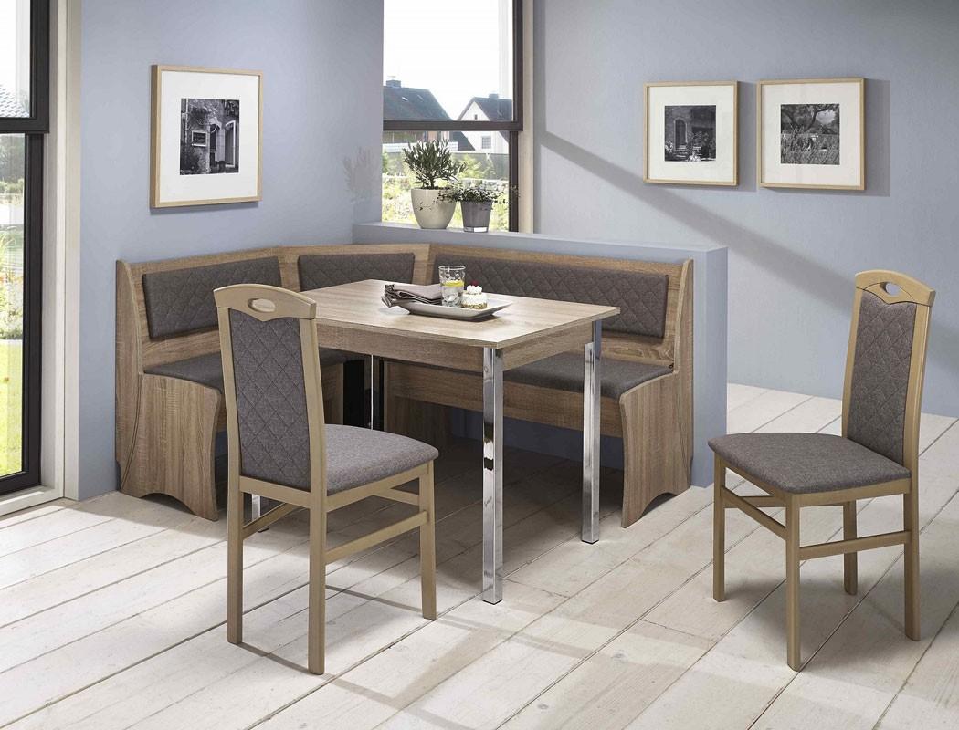 eckbankgruppe boston sonoma 2x stuhl eckbank tisch. Black Bedroom Furniture Sets. Home Design Ideas