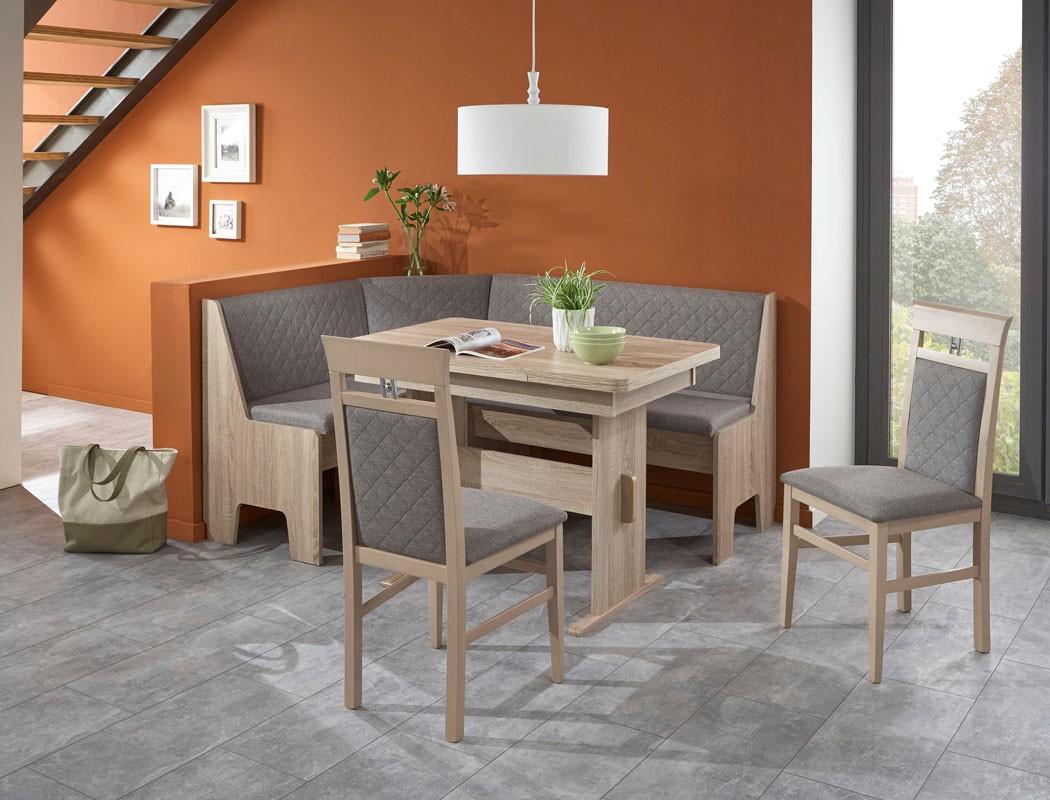 eckbankgruppe mainz sonoma 2x stuhl eckbank wangenausziehtisch wohnbereiche esszimmer eckbankgruppen. Black Bedroom Furniture Sets. Home Design Ideas