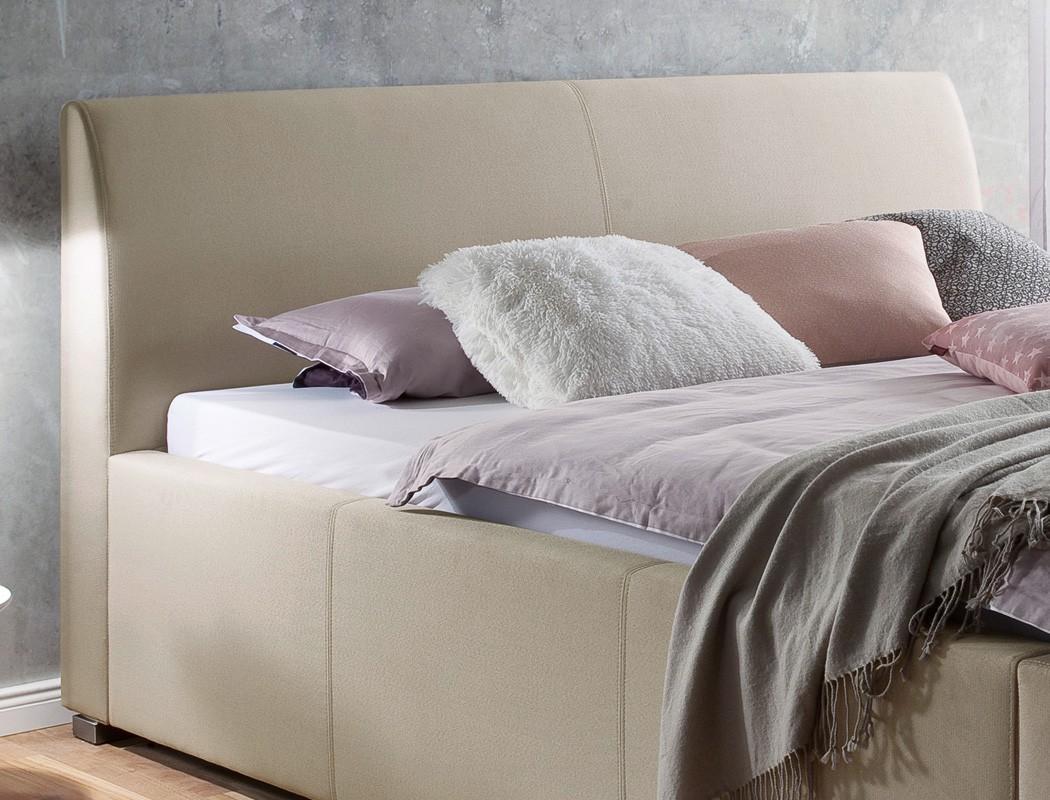 polsterbett mit bettkasten larissa kopfteil glatt varianten rost bett wohnbereiche schlafzimmer. Black Bedroom Furniture Sets. Home Design Ideas
