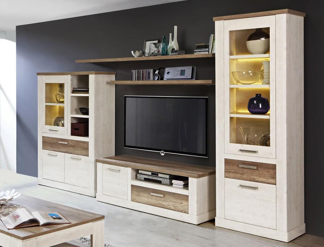 wandboard durio 15 eiche antik 200x4x25 cm wandregal regal. Black Bedroom Furniture Sets. Home Design Ideas