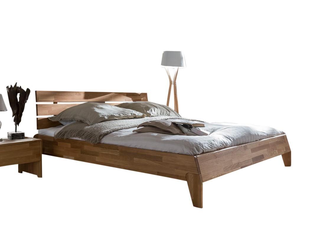 massivholzbett divico 140x200 wildeiche ge lt jugendbett lattenrost matratze ebay. Black Bedroom Furniture Sets. Home Design Ideas