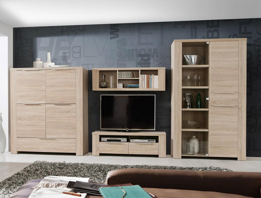 vitrine calvin 1 eiche sonoma 111x197x50cm glasvitrine vitrinenschrank wohnbereiche esszimmer. Black Bedroom Furniture Sets. Home Design Ideas