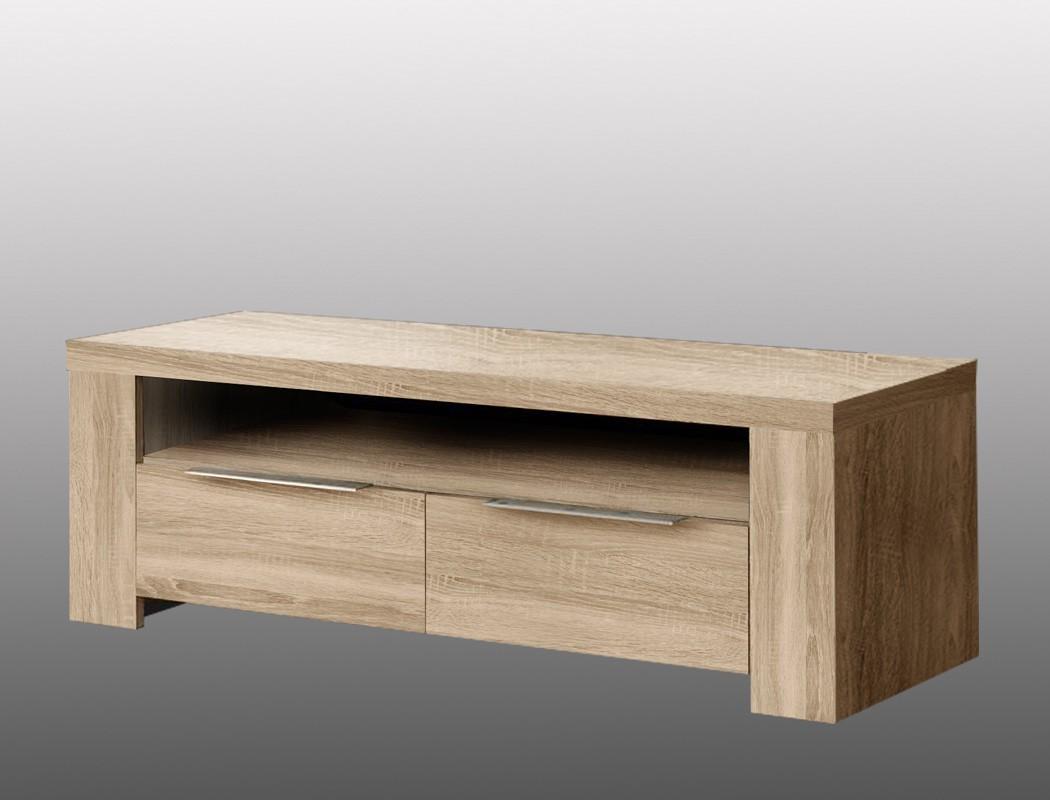 lowboard calvin 2 eiche sonoma 124x41x50 tv board tv schrank tv m bel wohnbereiche wohnzimmer tv. Black Bedroom Furniture Sets. Home Design Ideas