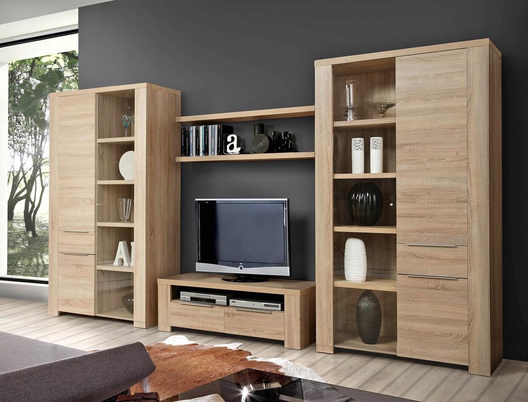 wandboard calvin 3 eiche sonoma 124x4x25 cm wandregal regal wohnzimmer wohnbereiche wohnzimmer. Black Bedroom Furniture Sets. Home Design Ideas