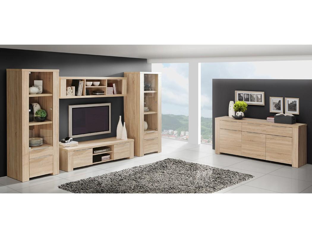 Sideboard calvin 6 eiche sonoma 169x83x50 anrichte schrank - Anrichte wohnzimmer ...