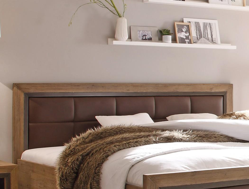massivholzbett cinco 140x200 akazie massiv holzbett jugendbett bett wohnbereiche schlafzimmer. Black Bedroom Furniture Sets. Home Design Ideas