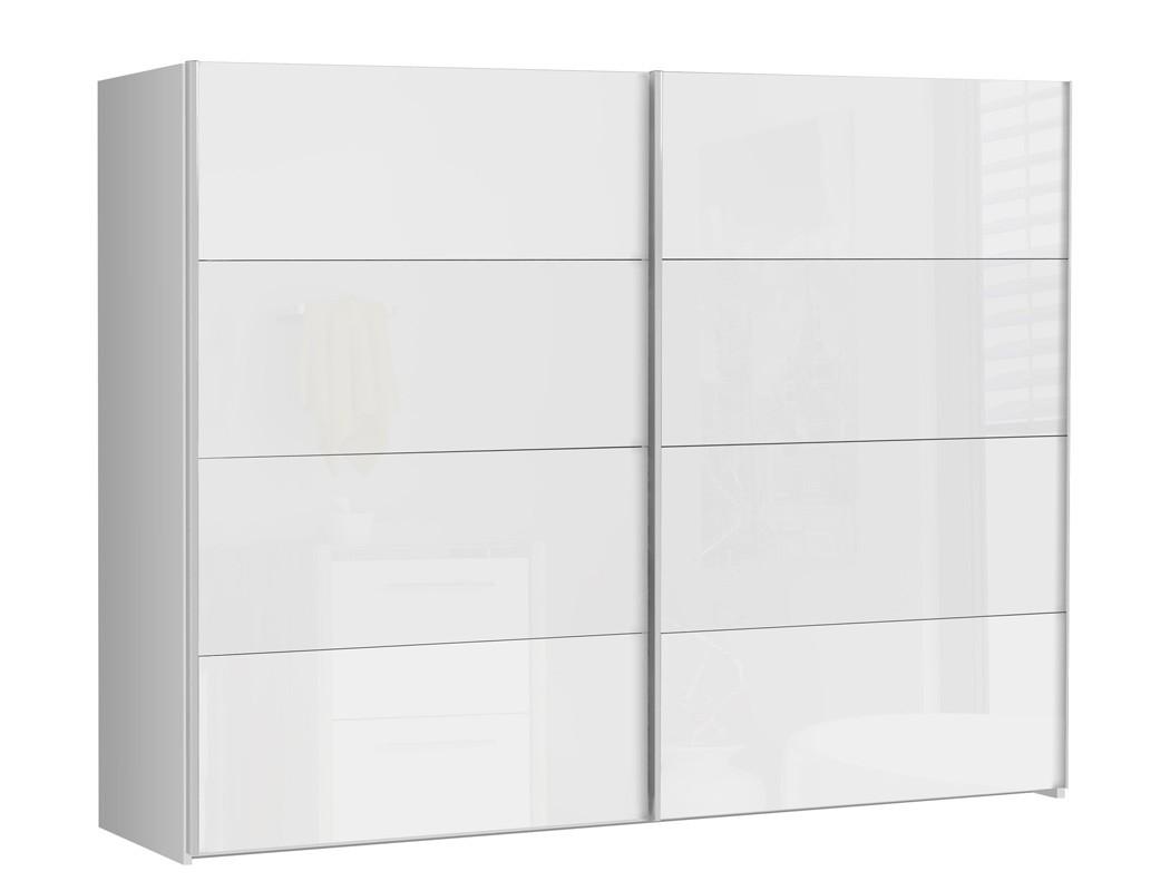 schlafzimmer sophie 20v wei hochglanz doppelbett 2x nako schrank wohnbereiche schlafzimmer. Black Bedroom Furniture Sets. Home Design Ideas