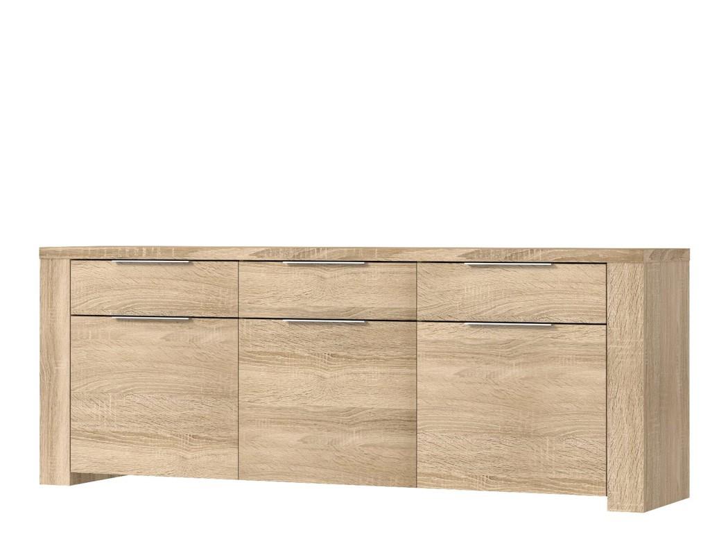 esszimmer calvin 79 eiche sonoma 4 teilig s ulentisch. Black Bedroom Furniture Sets. Home Design Ideas