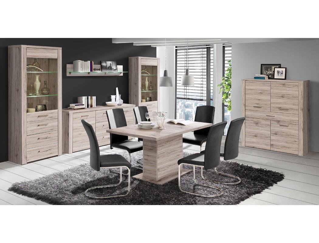 wandboard phil 13 sandeiche 165x25x22 cm wandregal regal beleuchtung wohnbereiche wohnzimmer regale. Black Bedroom Furniture Sets. Home Design Ideas