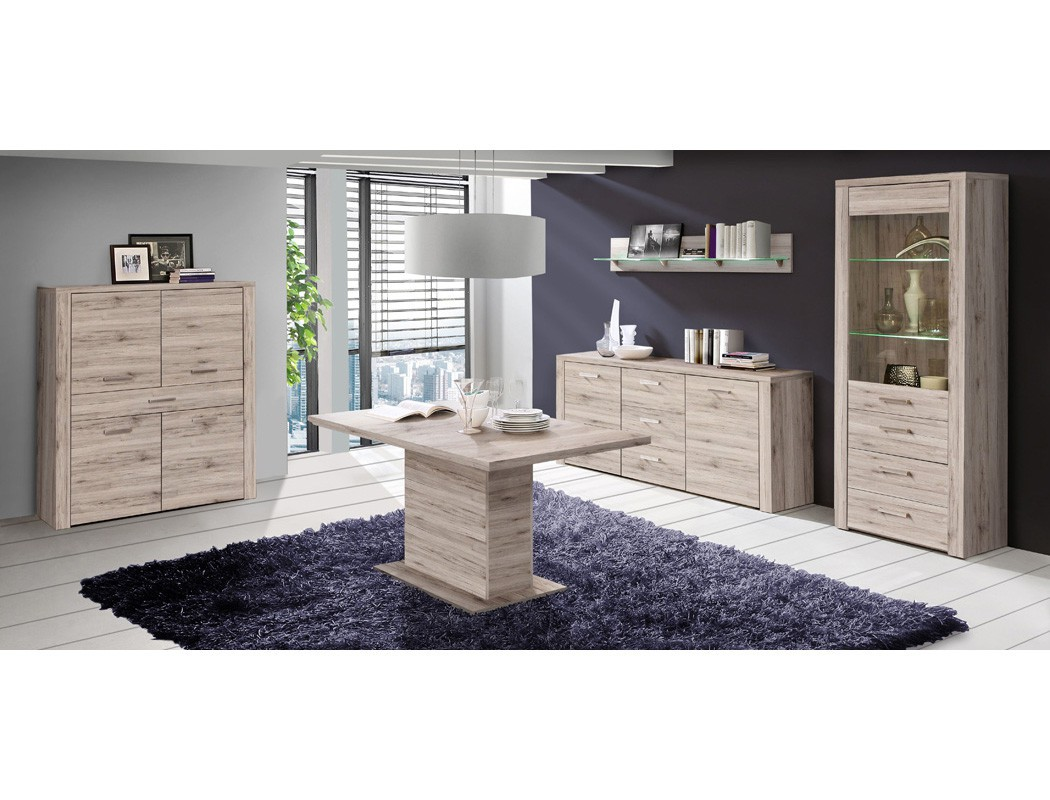wandboard phil 13 sandeiche 165x25x22 cm wandregal regal. Black Bedroom Furniture Sets. Home Design Ideas