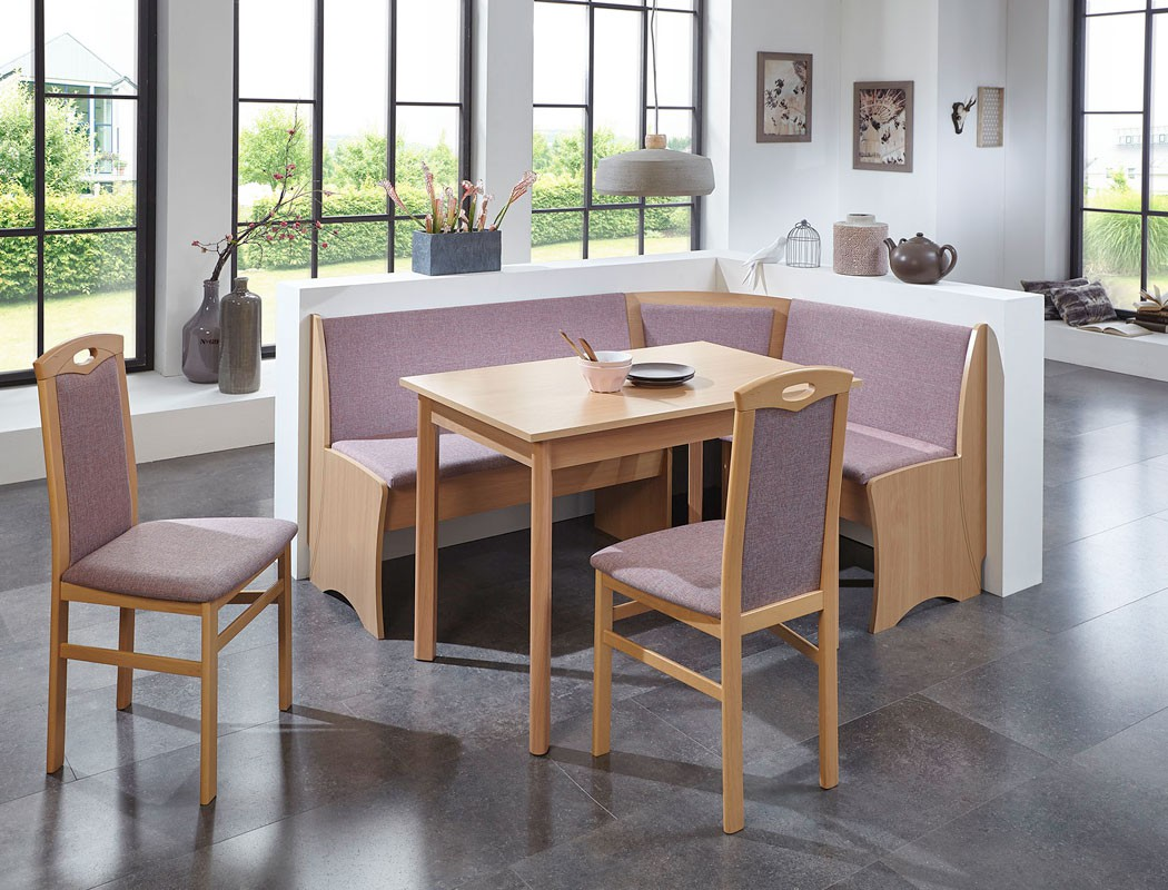 eckbankgruppe beringen buche natur 165x125 cm 2x stuhl. Black Bedroom Furniture Sets. Home Design Ideas