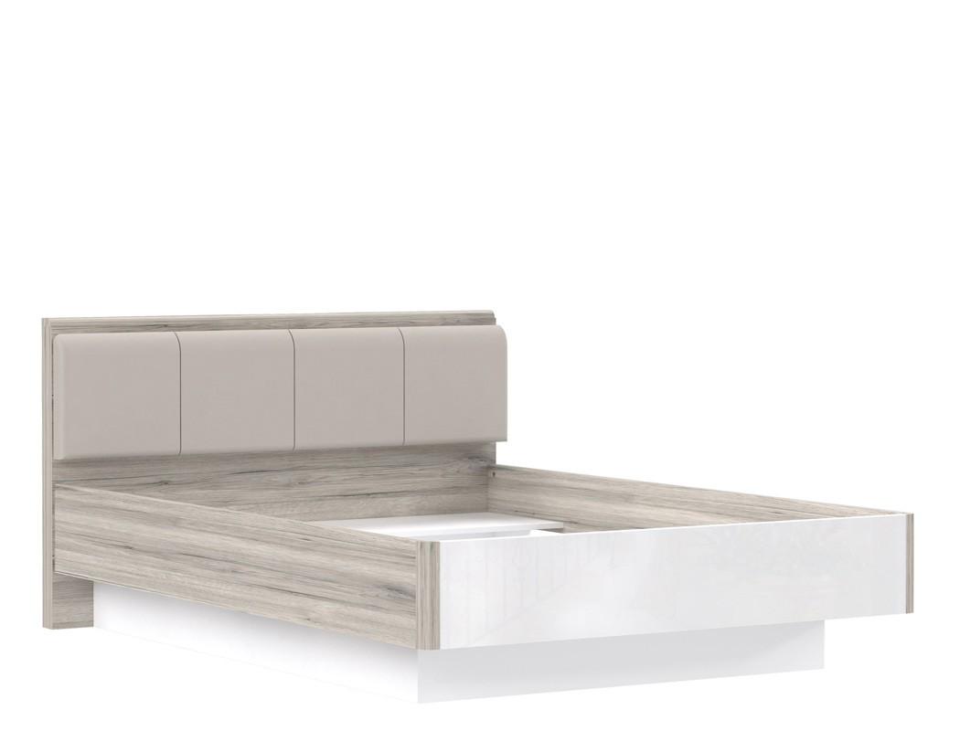 jugendbett rubio 4 sandeiche wei hochglanz 140x200 singlebett bett wohnbereiche schlafzimmer. Black Bedroom Furniture Sets. Home Design Ideas
